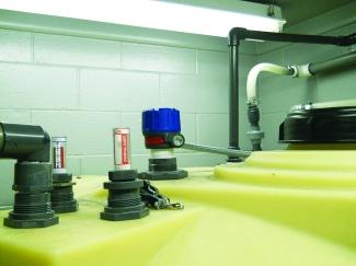 Pulse Burst Radar Controls Acid Level for pH Storage System