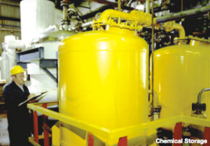 Petroleum Refining Process Chemical Storage
