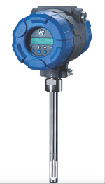 A Magnetrol® TA2 thermal mass flow meter