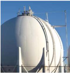 liquified gas storage