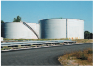 fuel oil storage